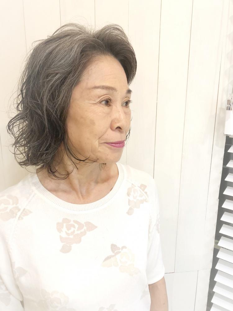 武蔵新城美容室PEACE HAIRパーママダム
