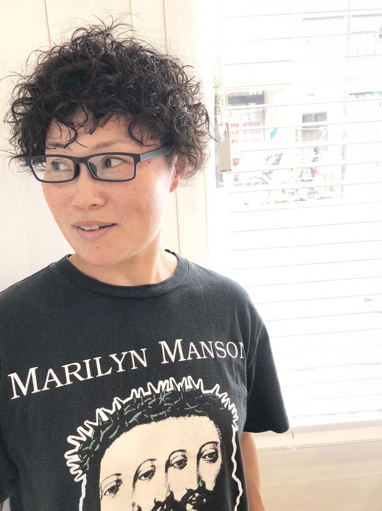 武蔵新城美容室PEACE HAIRパーマ