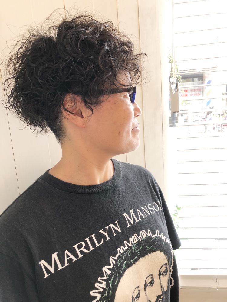 武蔵新城 美容室 PEACE HAIR パーマ